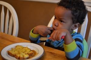 yum! birthday french toast